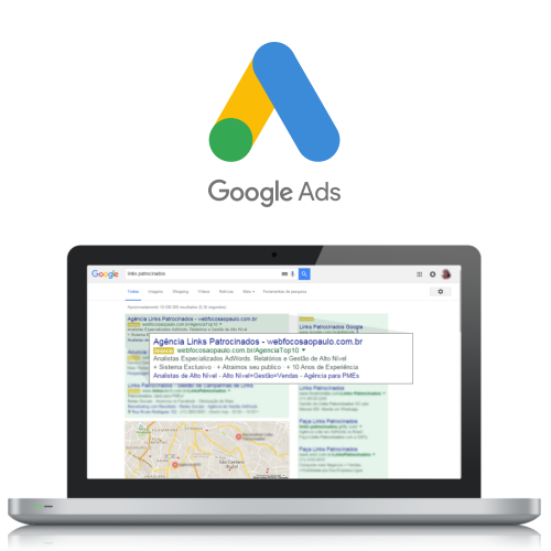 Links Patrocinados - GOOGLE ADWORDS / Autêntica Marketing Digital